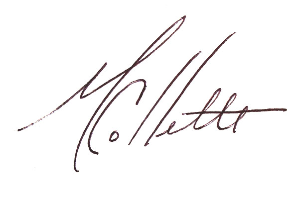 Mary Collette's Signature