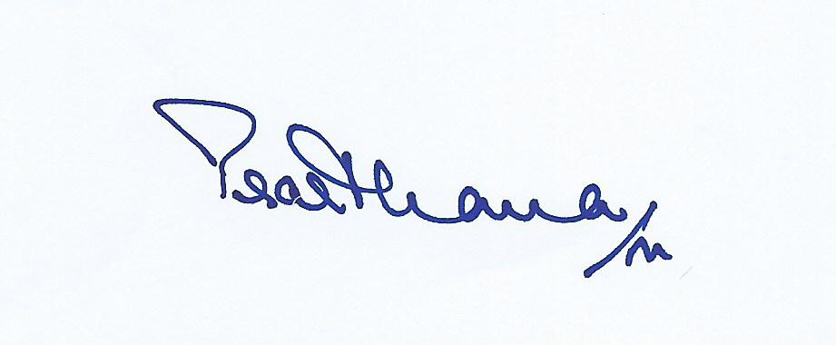 Prarthana Modi's Signature