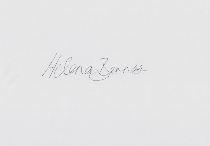 Helena Barnes's Signature