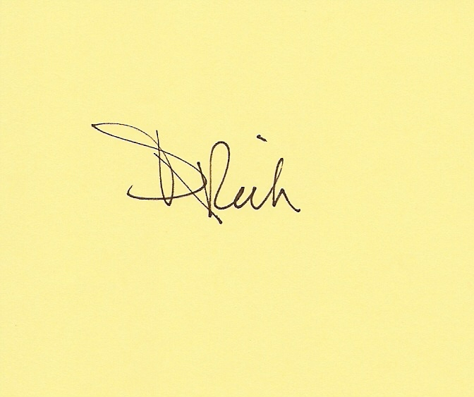 Deborah Rich's Signature