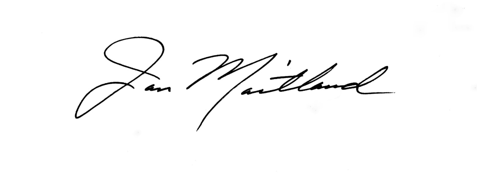 Jan Maitland's Signature