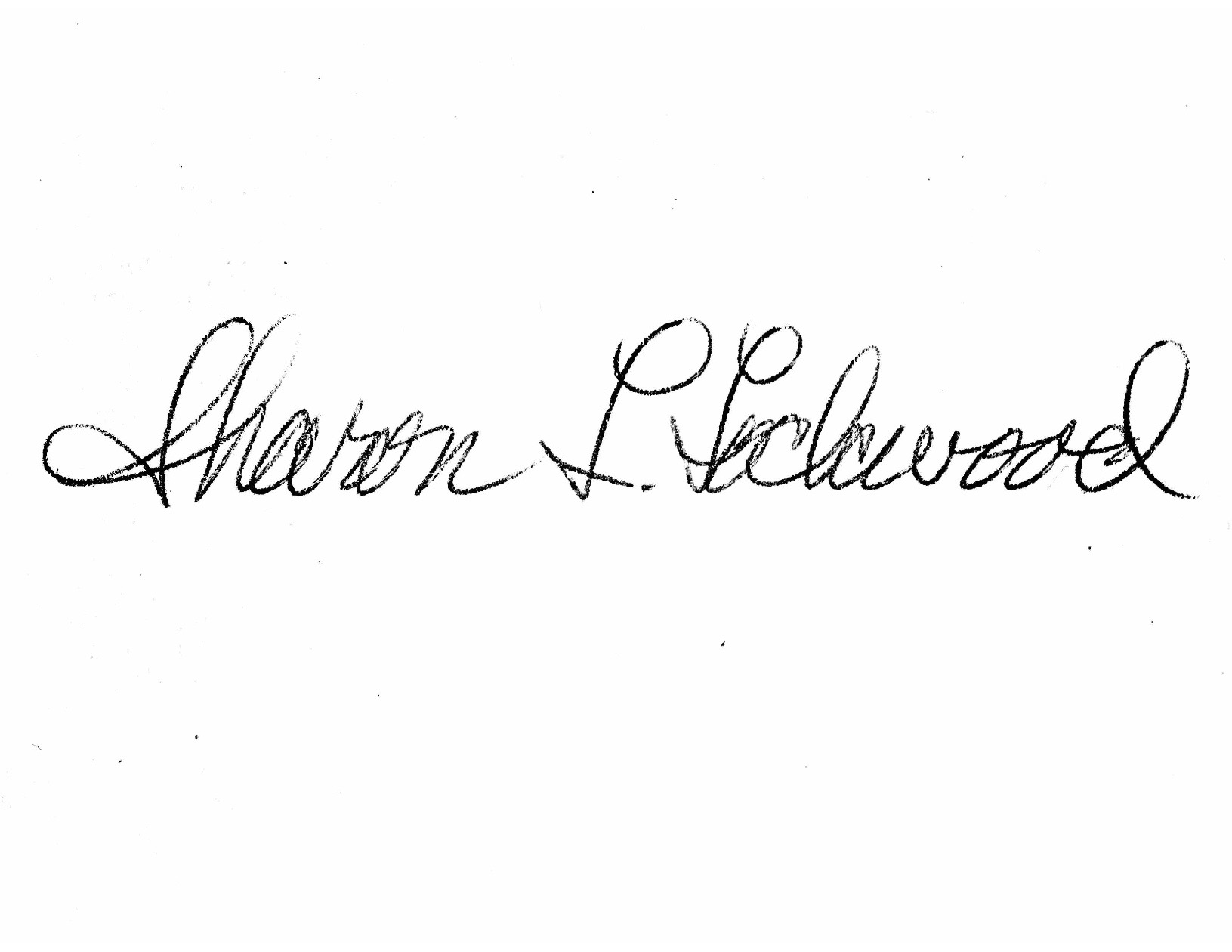 Sharon Lockwood's Signature