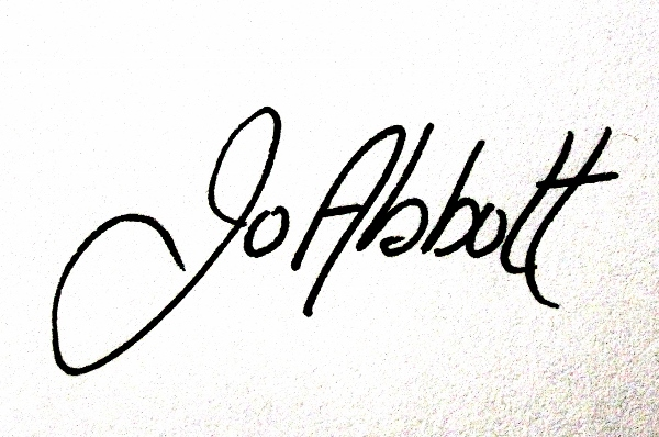 Joanne Abbott's Signature