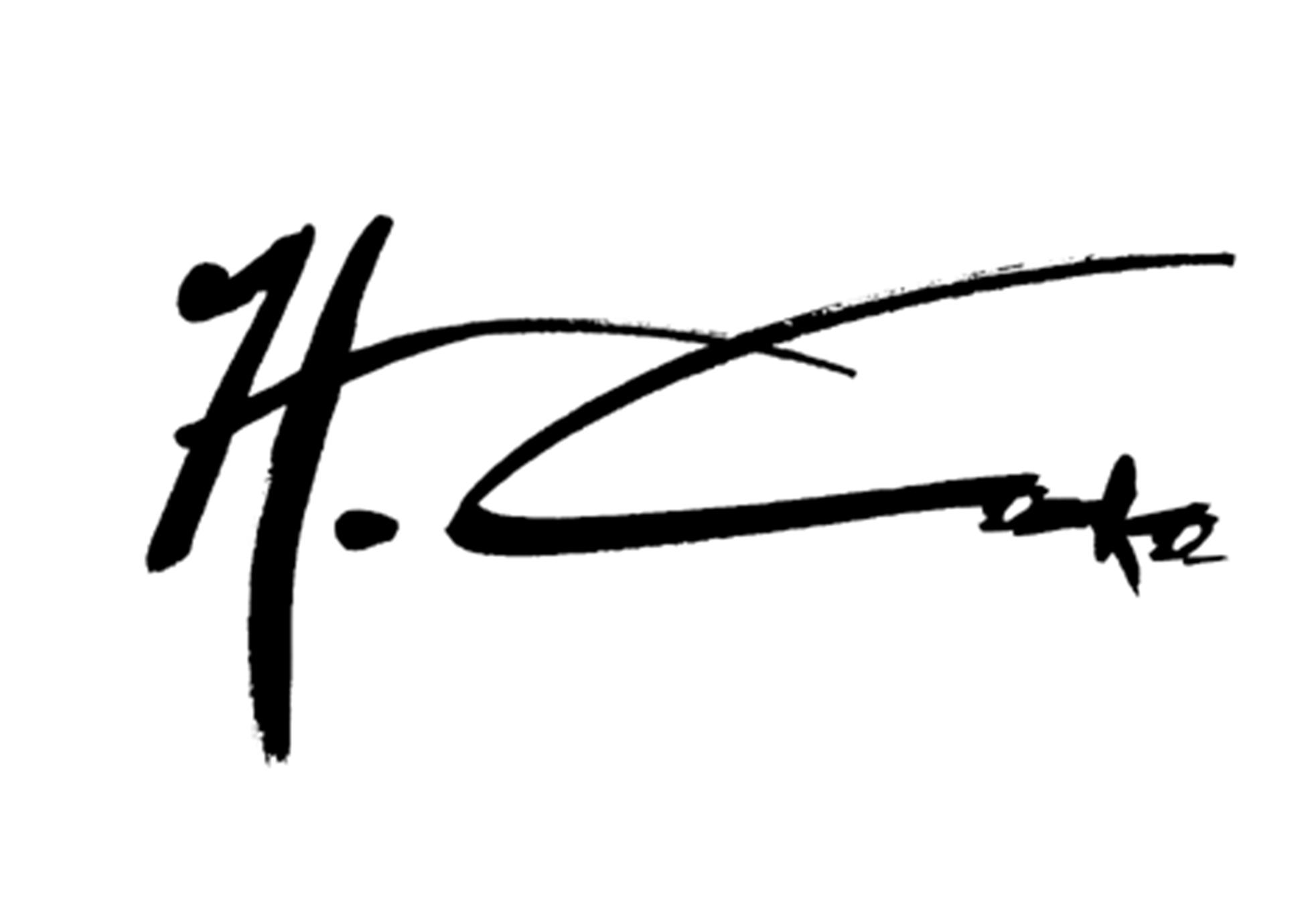 hesham taha's Signature