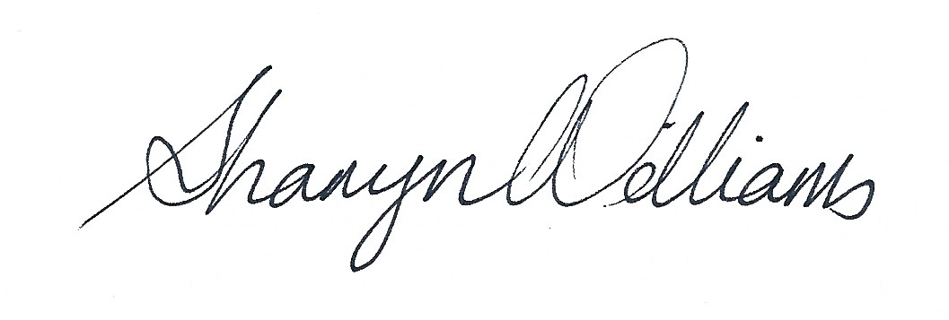 Sharyn Williams's Signature