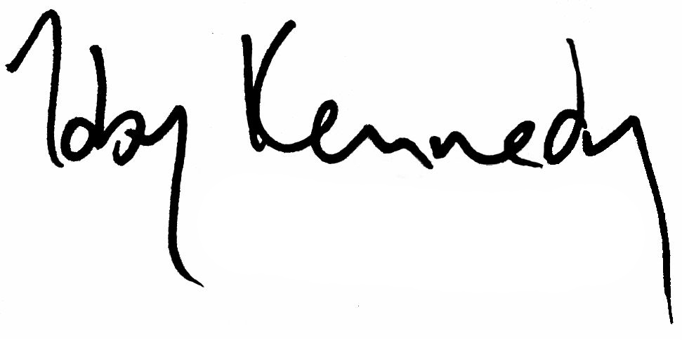 Toby Kennedy's Signature