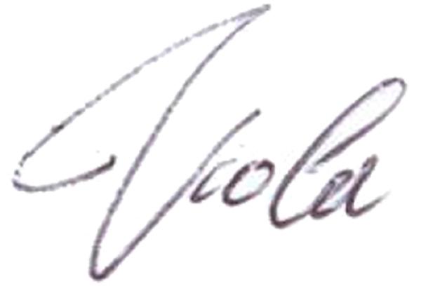 Viola Conti's Signature