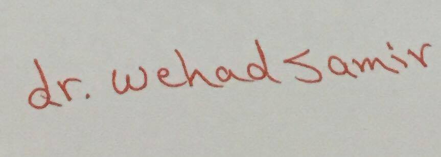 Dr Wehad Samir's Signature