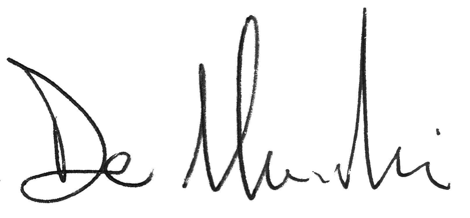 Alessio De Marchi's Signature