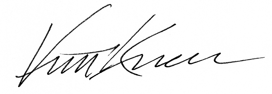 Vincent Knaus's Signature