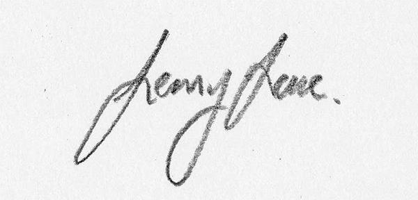 Lenny Lane's Signature
