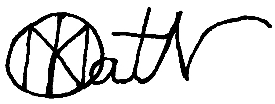 Kathryn Naylor's Signature