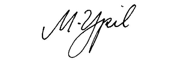 Mariel Ypil's Signature
