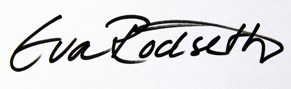 Eva Rödseth's Signature