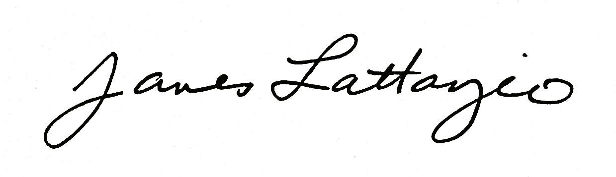 James Lattanzio's Signature