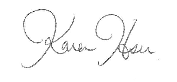 Karen Hsu's Signature