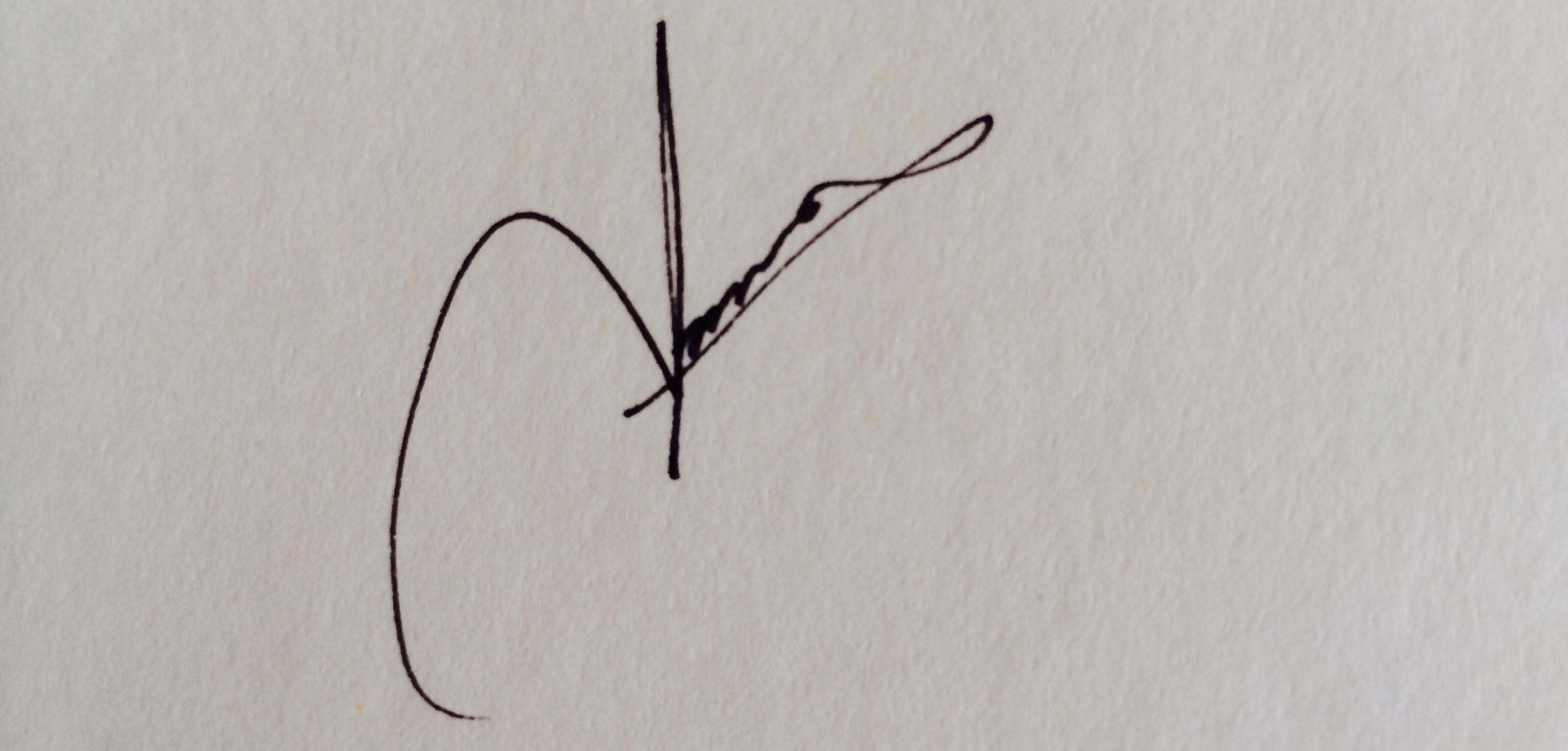 Amna Chaudhry's Signature