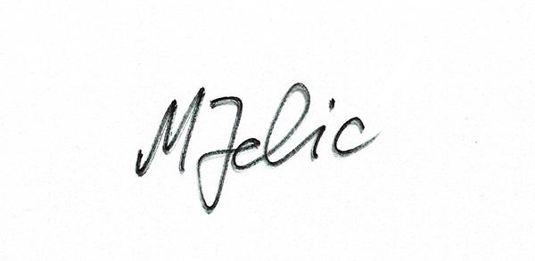 Margareta Jelic's Signature