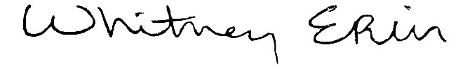 Whitney Wernick's Signature