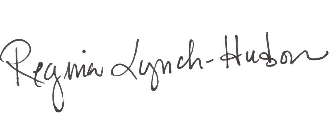 Regina Lynch-Hudson's Signature