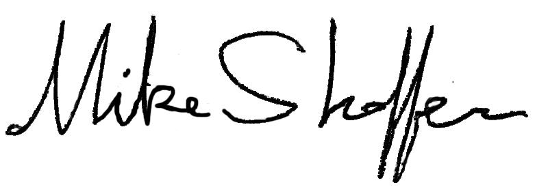 mike shaffer's Signature