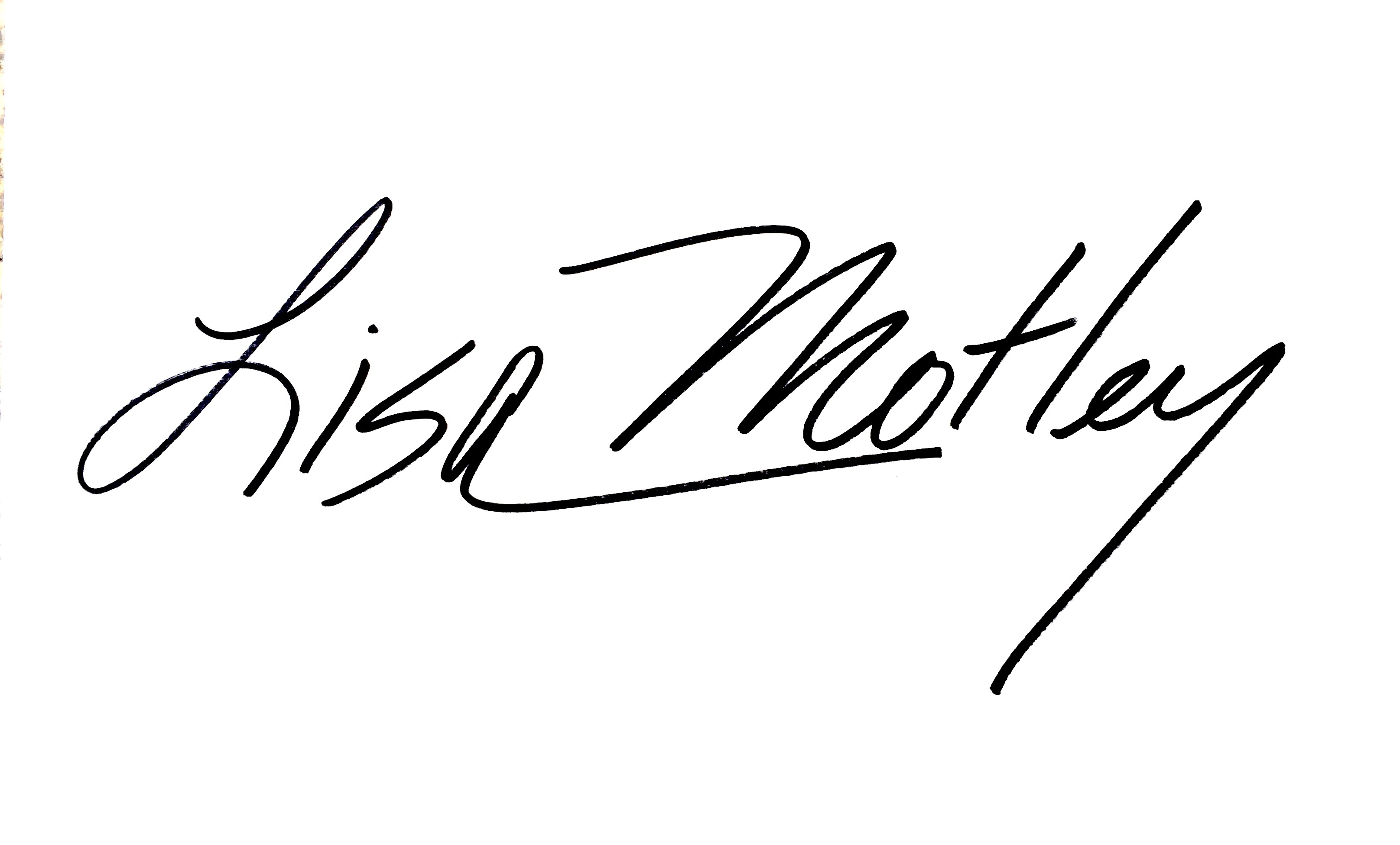 lisa  motley's Signature