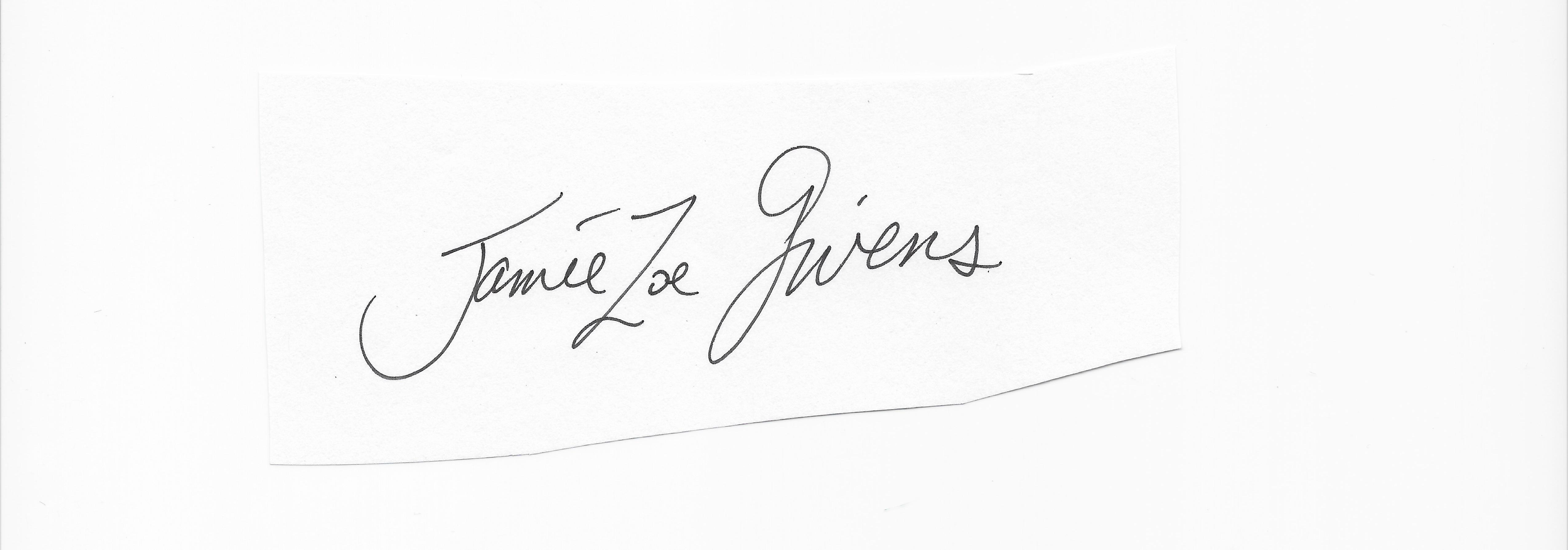 jamie Zoe givens's Signature