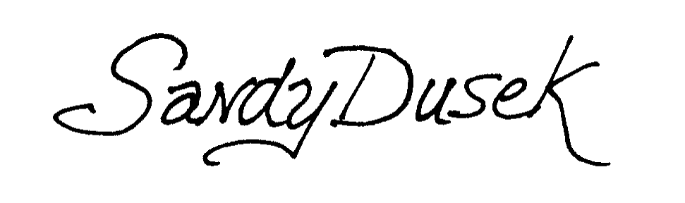 Sandy Dusek's Signature
