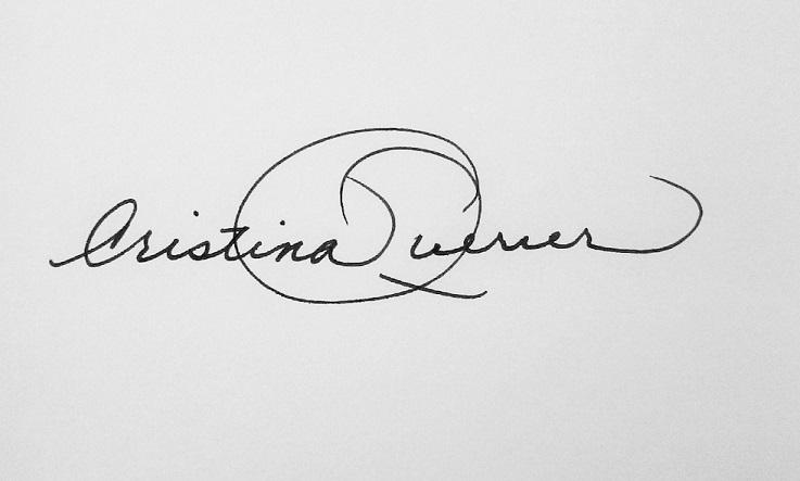Cristina Querrer's Signature