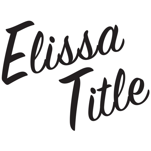 Elissa Title's Signature