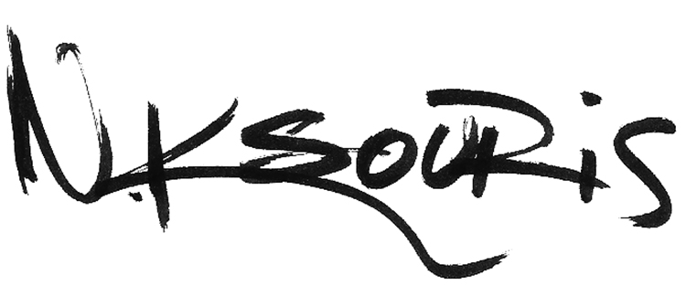 Nestoras Ksouris's Signature