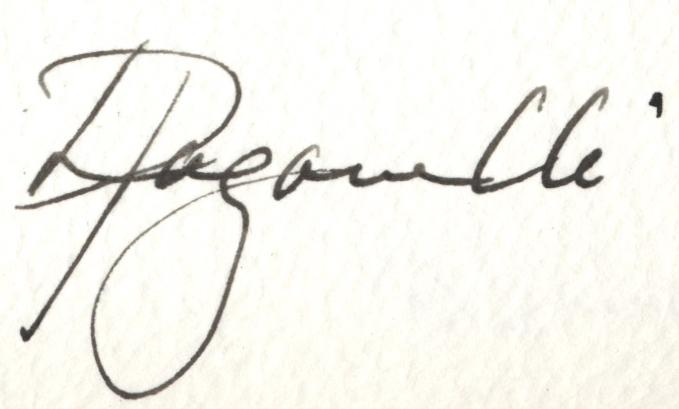 Liz Paganelli's Signature