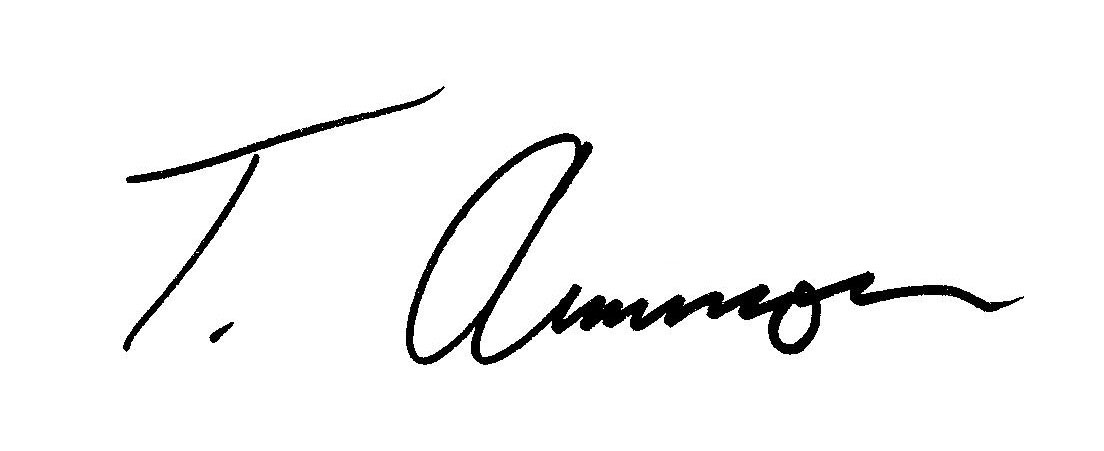 Tom Ammon's Signature