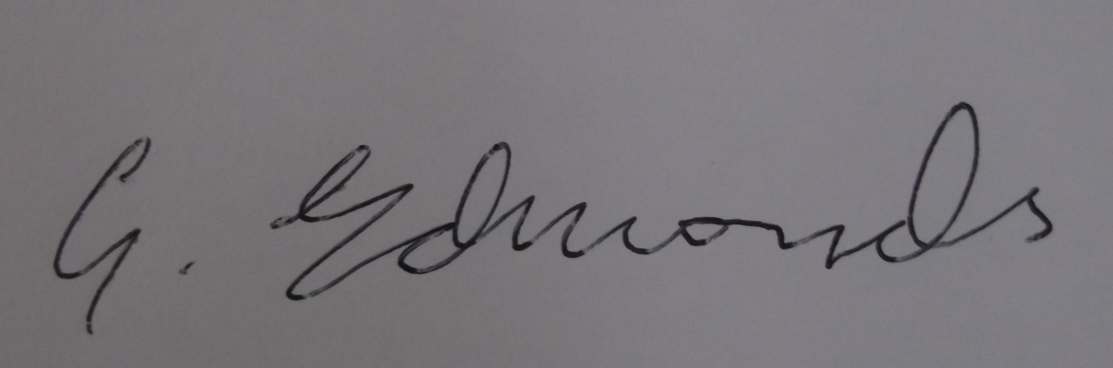 gearoid edmonds's Signature