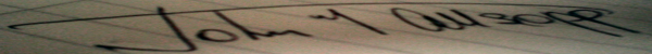 John Allsopp's Signature