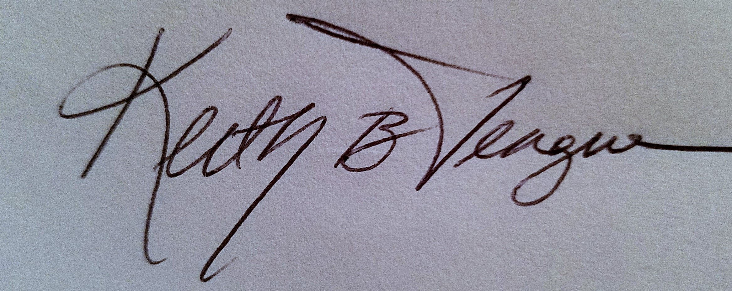 Keith Teague's Signature