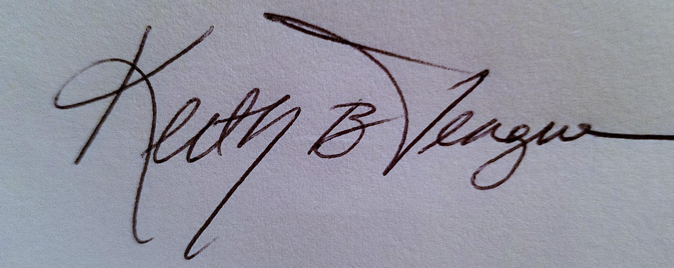 Keith Teague's Signature