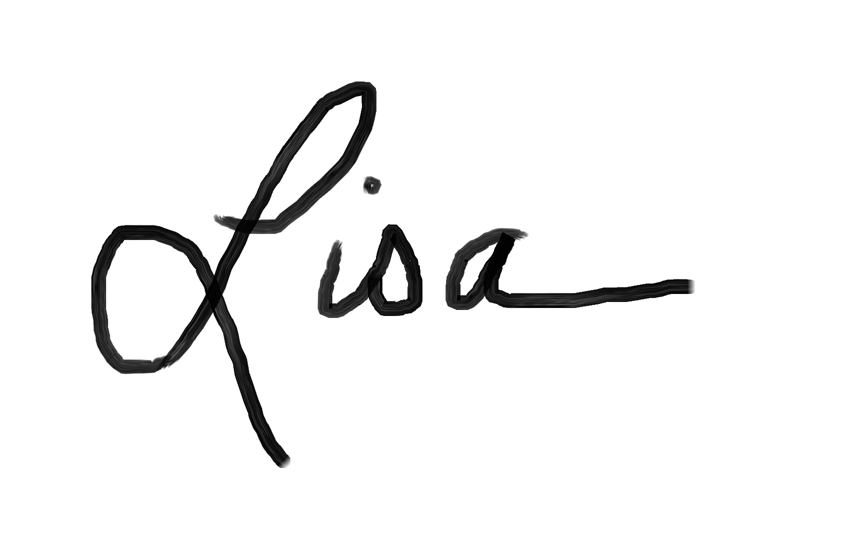Lisa Allen's Signature