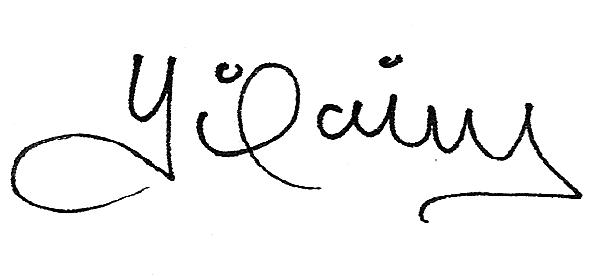Yilaing Siritt's Signature
