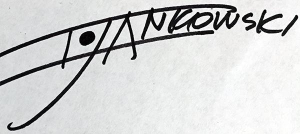 Iwona Jankowski's Signature