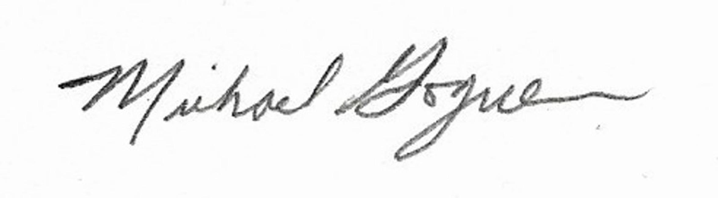 Michael Goguen's Signature