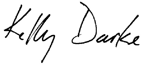 Kelly Darke's Signature