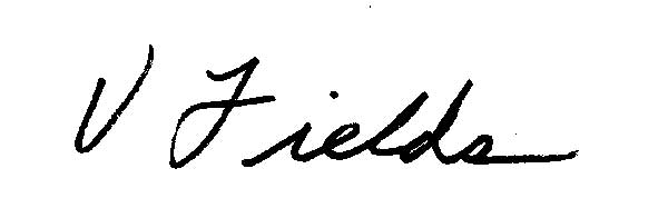 Vikki Fields's Signature