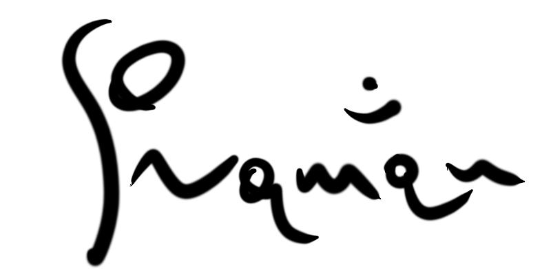 Raman Aleksandrovich's Signature