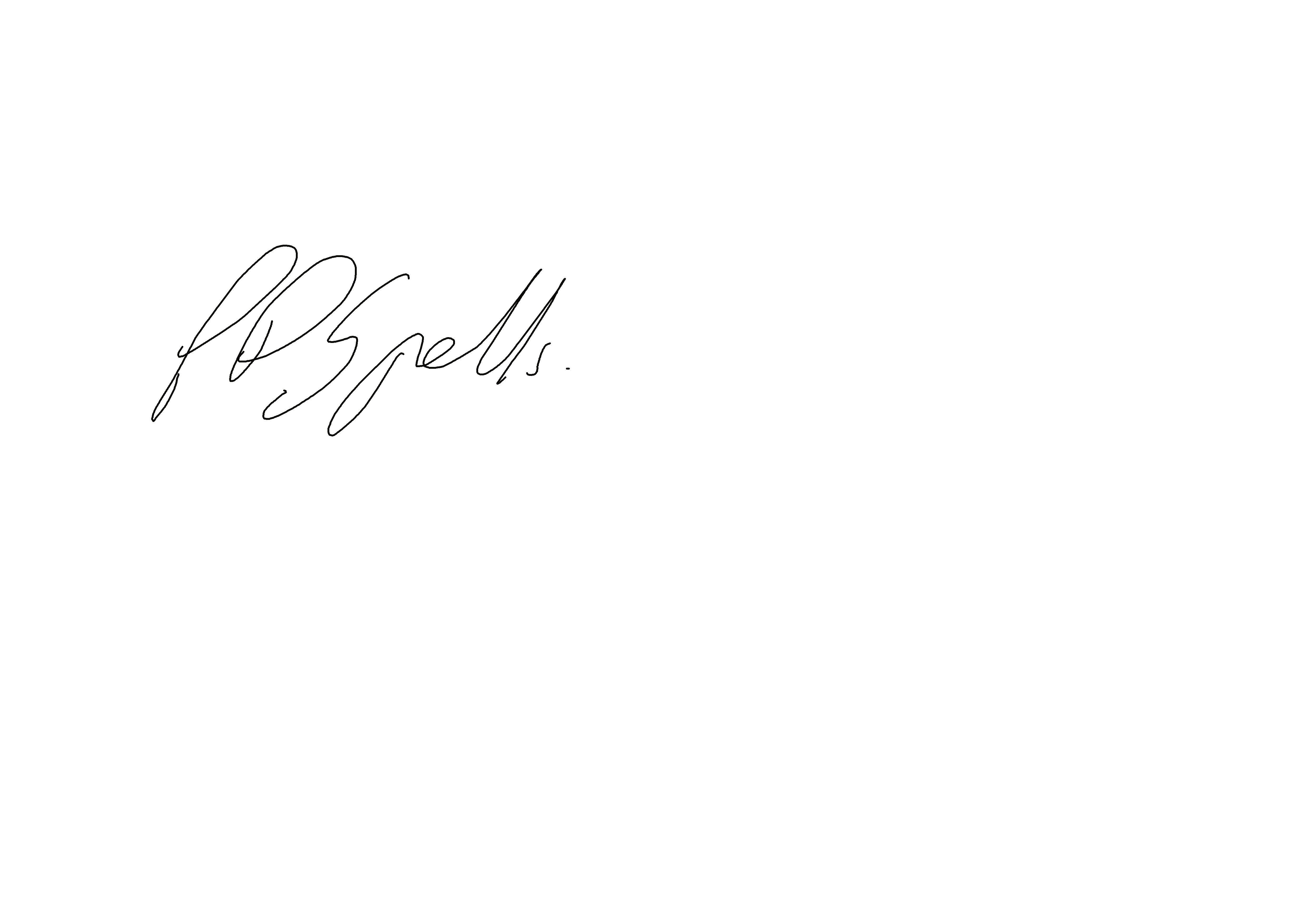 Peter Spells's Signature