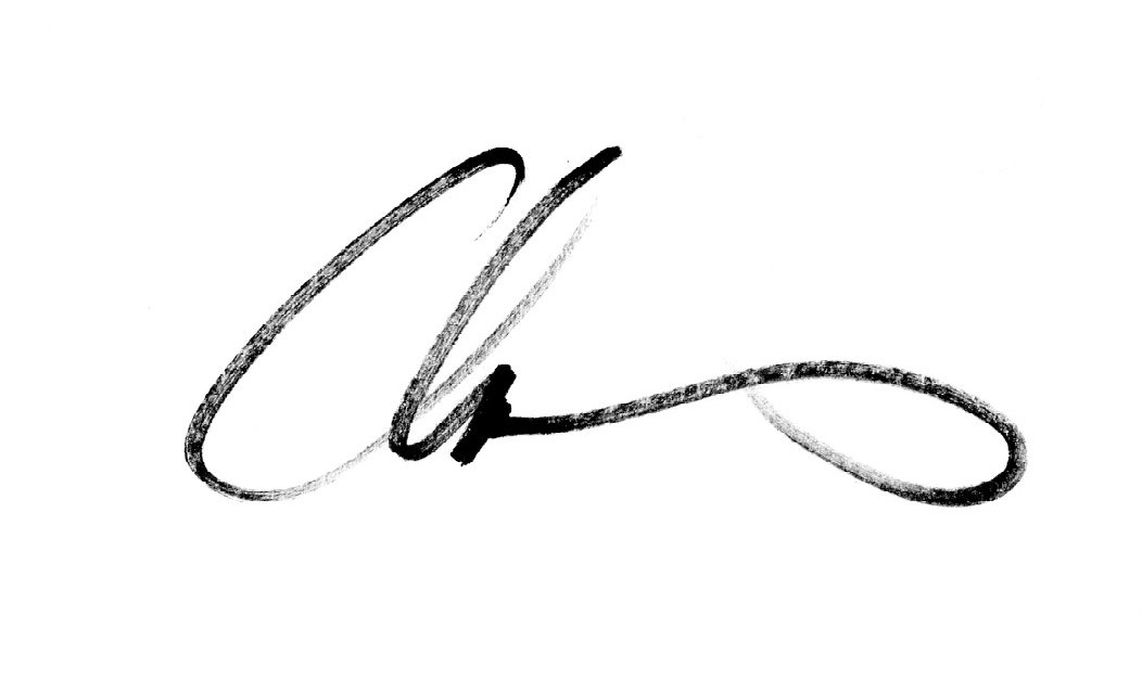 chas mcgough's Signature