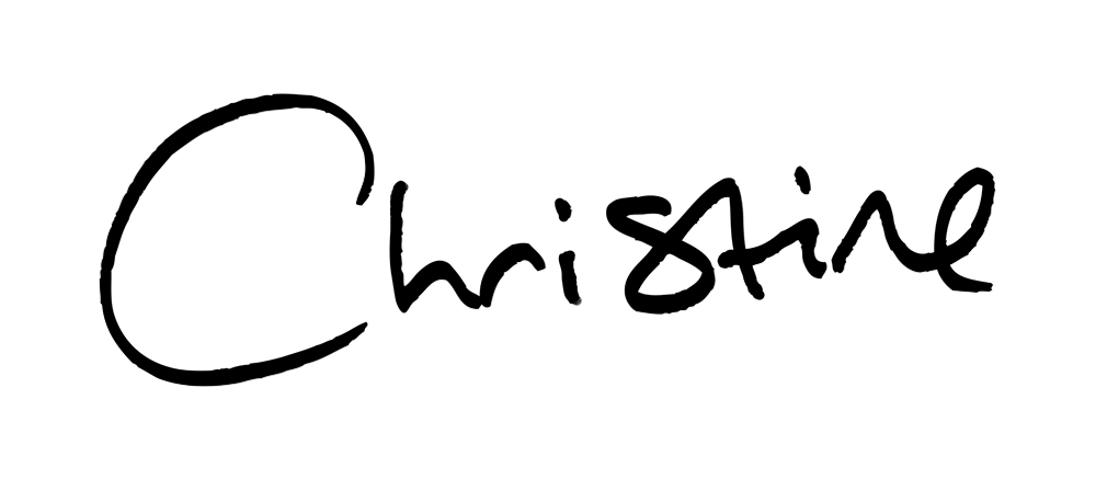 Christine Moloney's Signature