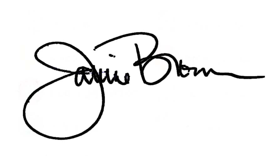 Janine Brown's Signature
