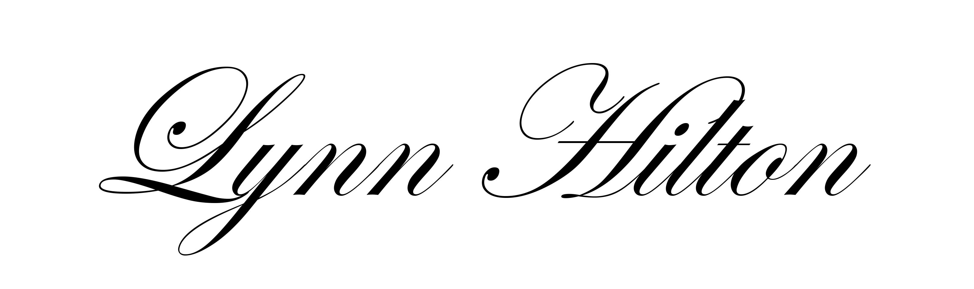 Lynn Hilton's Signature