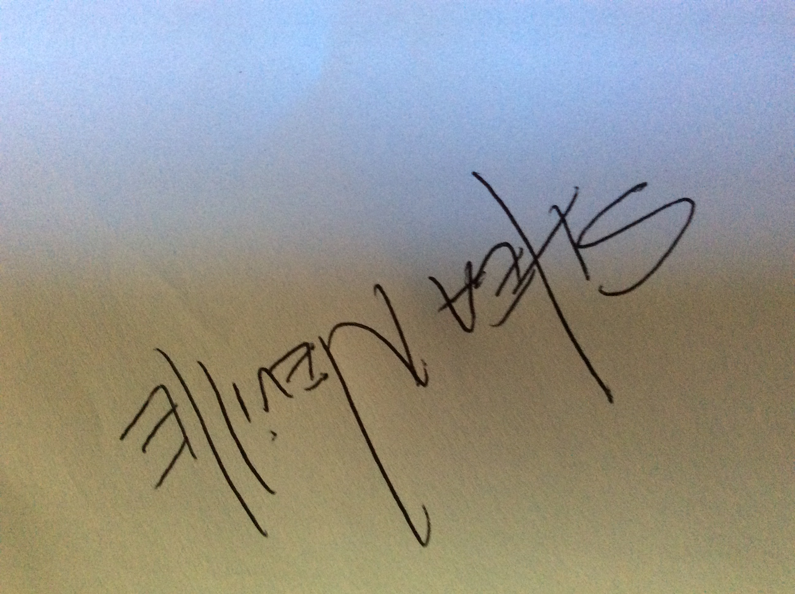 Shea Neville's Signature